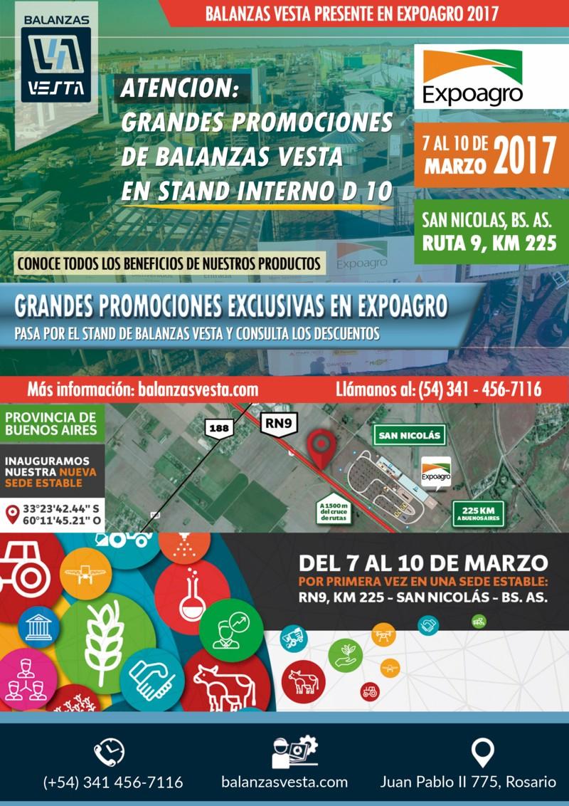 expoagro 2017 balanzas vesta