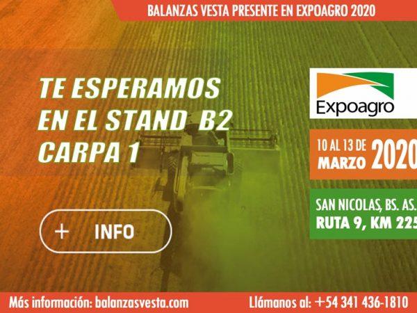 expoagro 2020 banner