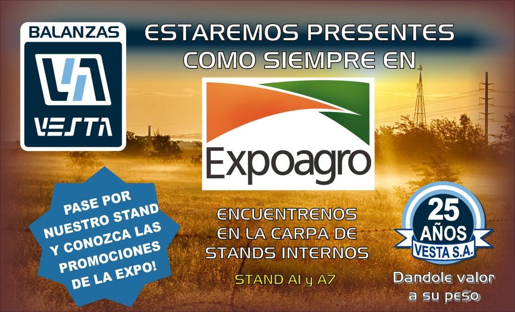 Balanzas Vesta en Expoagro 2016
