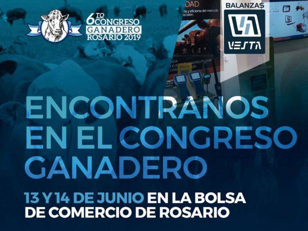 congreso ganadero rosario 2019 Balanzas Vesta